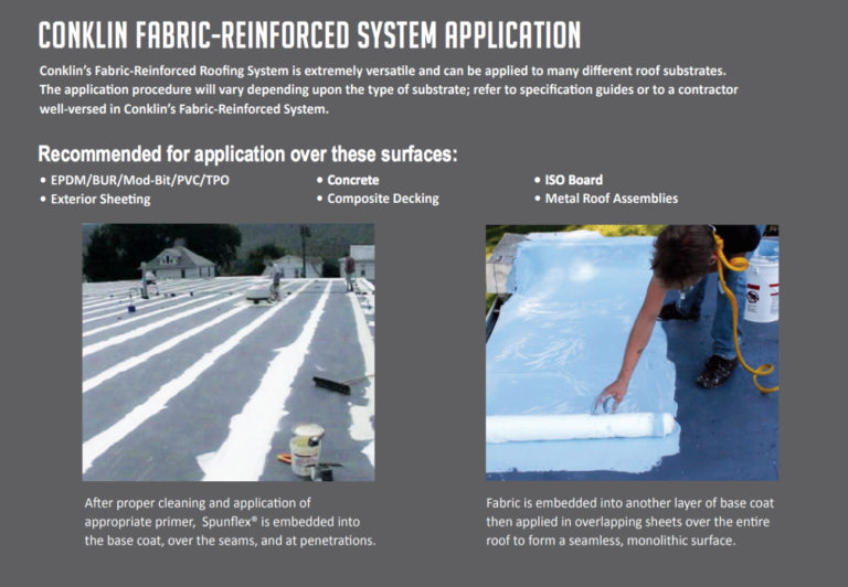 Fabric Reinforced Commercial Roofing System