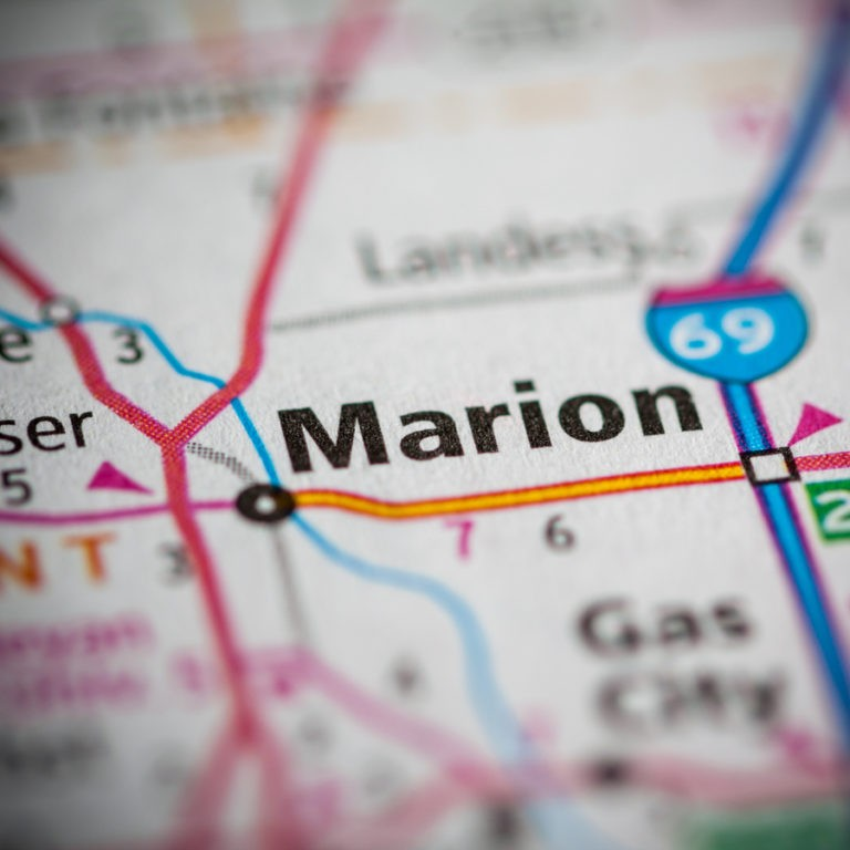 Map of Marion IN on Marion IN page.